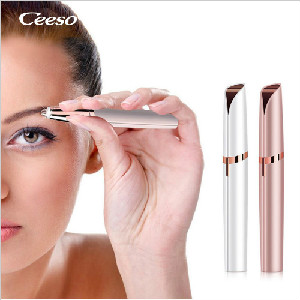 Ceeso Rechargeable Eyebrow Trimmer Eyebrow Hair Sharper Face Lip Nose Hair Remov