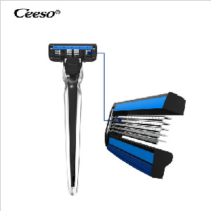 Ceeso Razor 5 Layer Blades System Safety Changeable Metal Razor