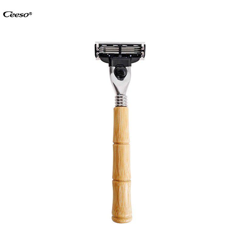 Ceeso classic three piece double-edged safety razor, degradable razor